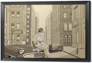Obraz v Rámu Jazz