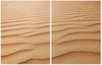Zbliżenie tekstury piasku. obraz z miękki