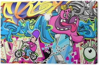 Graffiti Urban Art tło wektor
