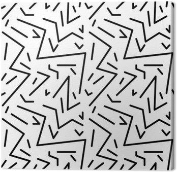 Bezproblemowa geometryczny wzór w stylu retro vintage, 80s stylu, Memphis. Idealny do projektowania tkanin, papieru i druku strony tło. EPS10 plik wektorowy