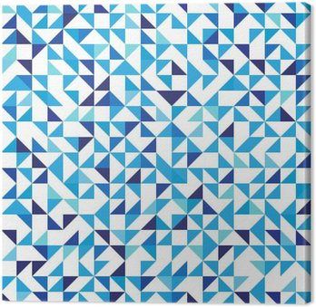 Blue geometric background with triangles. Seamless pattern. Vector illustration EPS 10