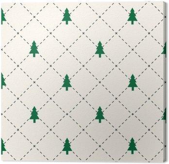 Green tree pattern
