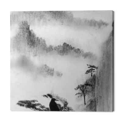 Mgła Góry i sosny