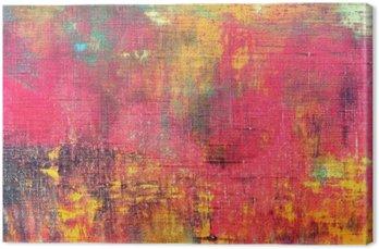Streszczenie kolorowe ręcznie malowane na płótnie tekstury tła