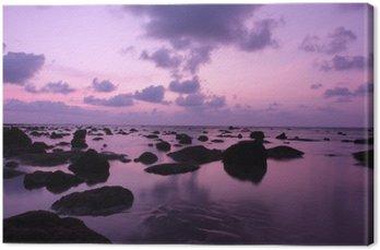 Dech w piersiach słońca na plaży Kamala