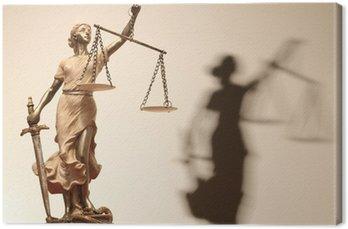 Sprawiedliwość jest ślepa (... a może nie)