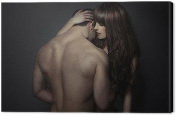 Przetargu romantyczny młodych kochanków