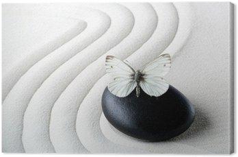 ZEN Stone z motylem