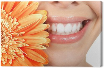 Kobieta zębów
