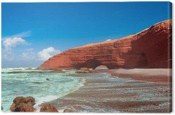 Legzira plaża, Sidi Ifni, Sus-Massa-Dara, Maroko