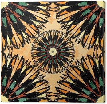 Oriental Barwna ozdoba szwu wzór Vector
