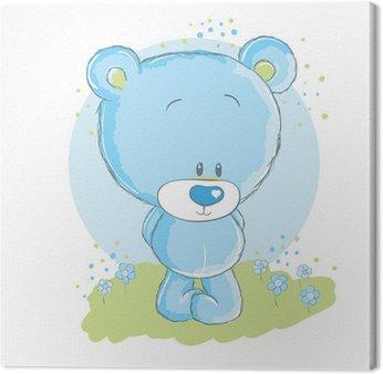 Baby blue niedźwiedź