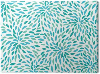 Vector flower pattern. Seamless floral background.