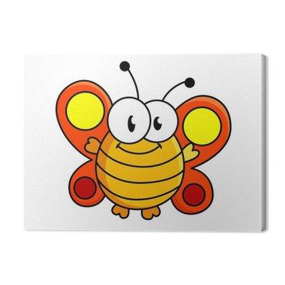 Motyl cartoon ilustracji tłuszczu
