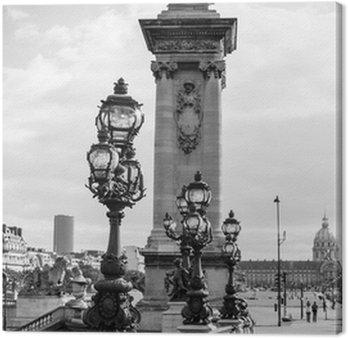 The Alexandre III bridge