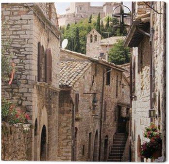 Średniowieczna ulica włoski