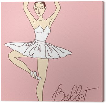 Ilustracja z tancerz