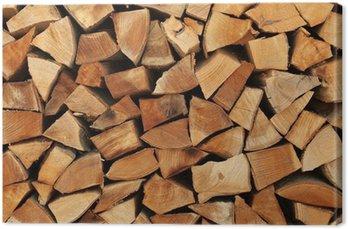 Ułożone jedna nad drugą, jak kłody drewna opałowego