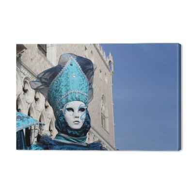 Włochy, Wenecja. karnawałowe maski stwarzających w placu San Marco