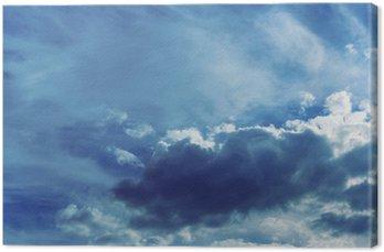 Tle nieba z chmurami