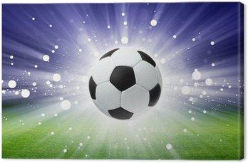 Piłka nożna, stadion, światło
