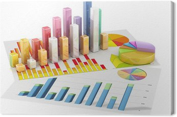 Diagram wykres wykres kołowy 3D