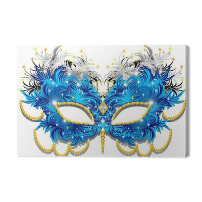 Carnival Mask Carnival Mask Feather-Feathers-3-Vector