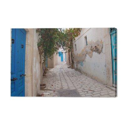 Wąska ulica w Sousse