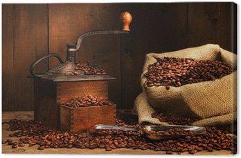 Antique młynek do kawy z ziaren