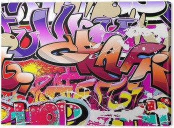 Graffiti bezszwowe tło. hip-hop miejskiego sztuki