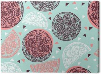 Citrus pattern graphics