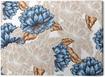 Jednolite kwiatowy wzór graficzny