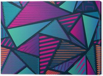 Streszczenie bezszwowe chaotyczny wzór z miejskich elementów geometrycznych. Grunge neon tekstury tła. Tapety dla chłopców i dziewczynek