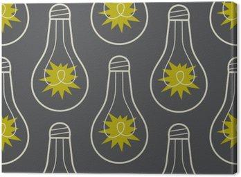 Jednolite wzór z lampy i światła