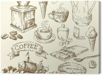 Kawa, herbata, czekolada kolekcja