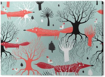 pattern trees and foxes