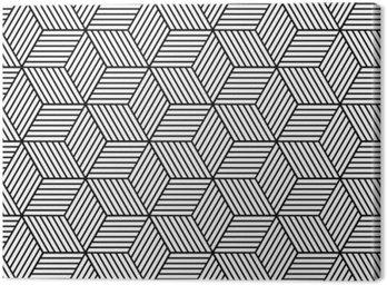 Bezproblemowa geometryczny wzór z kostki.