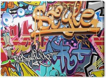 Graffiti ściany. tła miejskiego sztuki wektor. powtarzalne tekstury