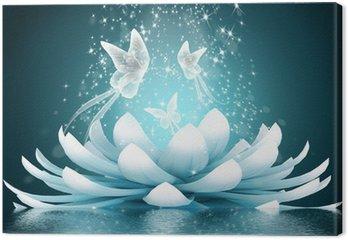 Piękny kwiat lotosu