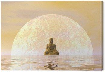 Budda medytacji - 3D render