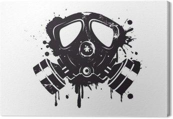Gasmaske Graffiti