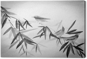 Bambus i trzy birdie oddział
