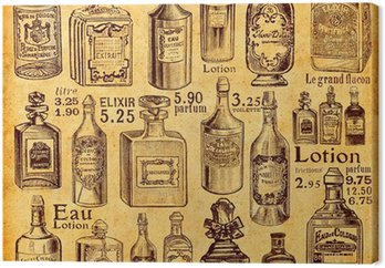 Butelki i perfumy