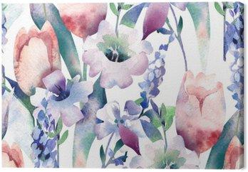 Spring Bouquet Seamless Pattern