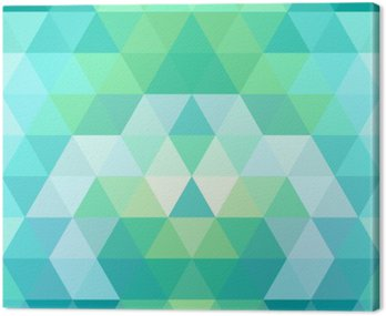 Mosaic triangle background. Geometric background