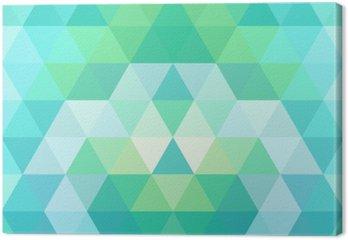 Mosaic triangle background. Geometric background
