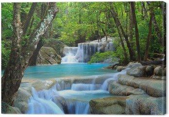 Erawan wodospad, Kanchanaburi, Tajlandia