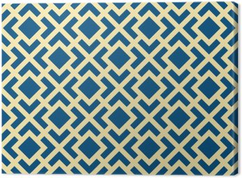 Streszczenie szwu geometryczne Art Deco Krata wektor wzór