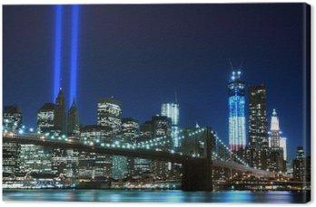 Brooklyn brigde i wieże światła, Nowy Jork