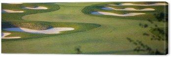 Idyllic Golf Course Hole Scene